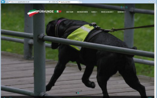 Spuerhunde NRW Webseite